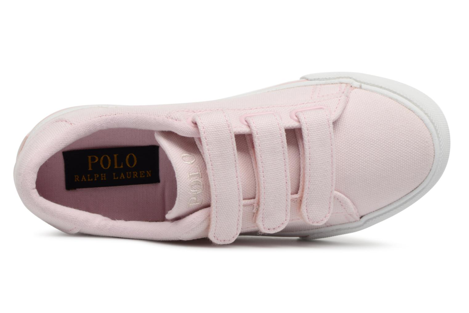 Trainers Polo Ralph Lauren Easten EZ Pink view from the left