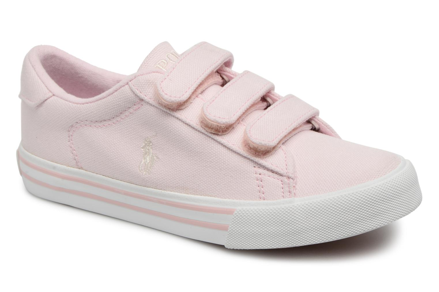 Trainers Polo Ralph Lauren Easten EZ Pink detailed view/ Pair view