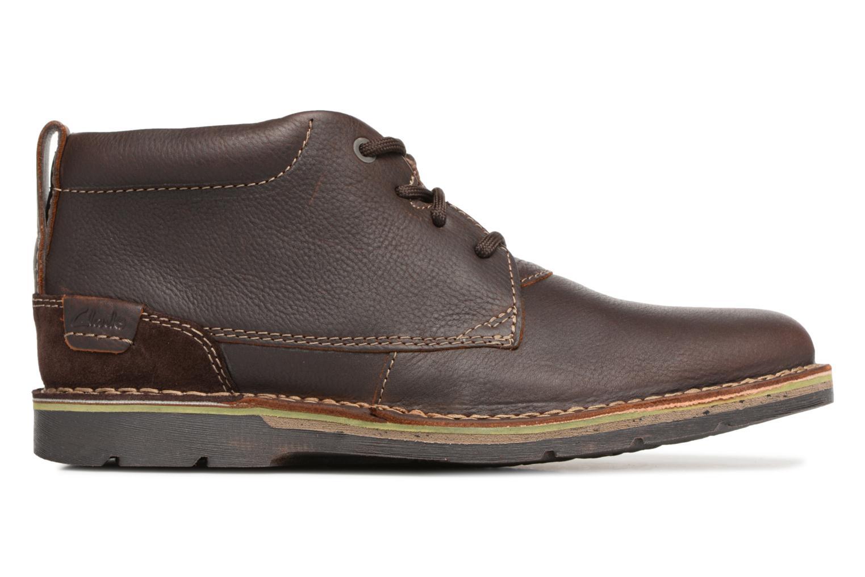 Bottines et boots Clarks Edgewick Mid Marron vue derrière