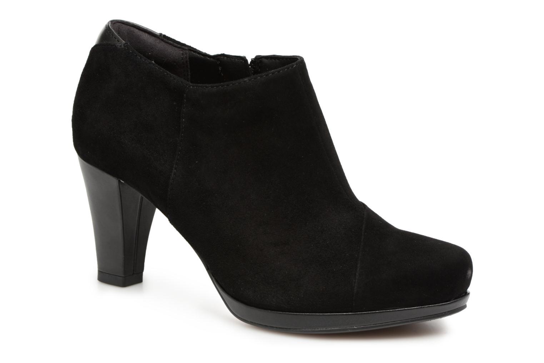Zapatos de moda hombres y mujeres de moda de casual Clarks Chorus Jingle (Negro) - Botines  en Más cómodo 5c35ec