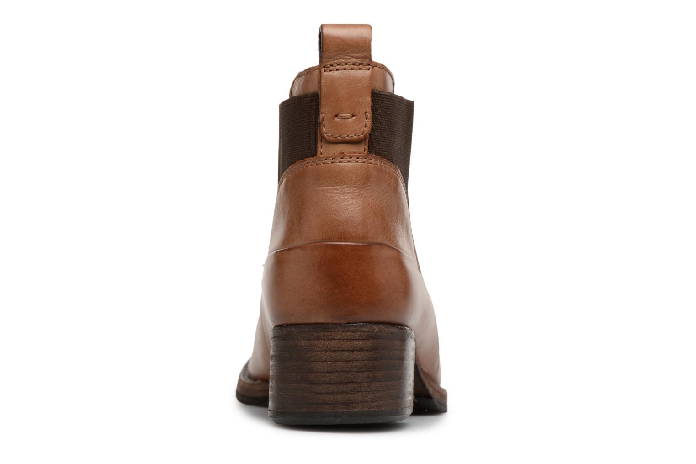 Bottines et boots Clarks Monica Pearl Marron vue droite