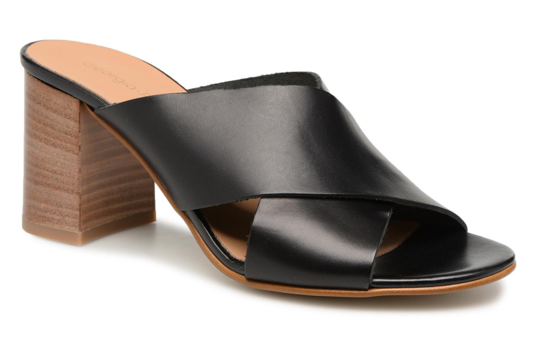 Los Los Los últimos zapatos de hombre y mujer Georgia Rose Luciola (Negro) - Zuecos en Más cómodo eca4d5