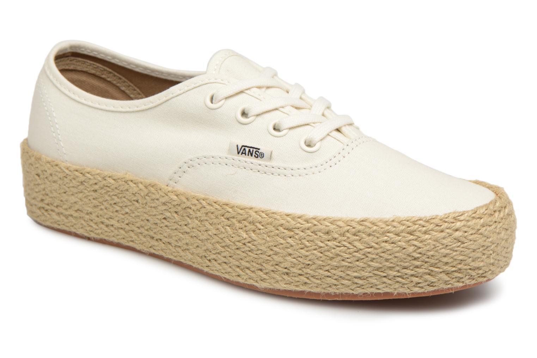 Zapatos promocionales Vans Authentic Platform ESP (Blanco) - Alpargatas   Cómodo y bien parecido