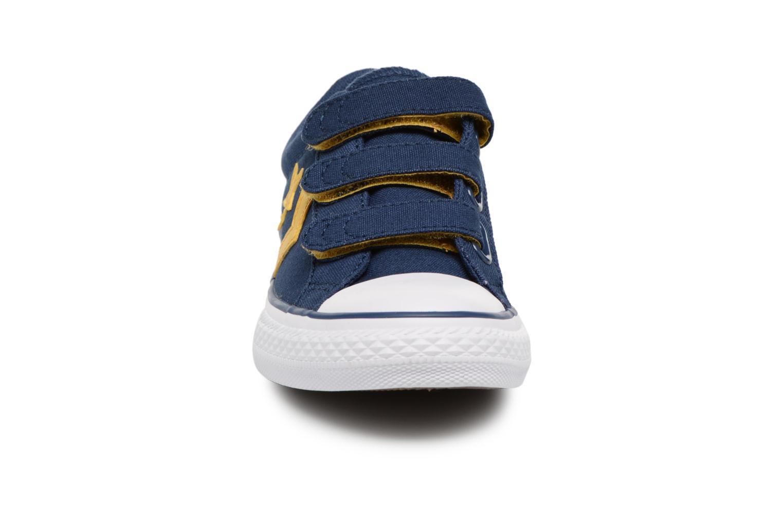 Baskets Converse Star Player EV 3V Ox Sport Canvas Bleu vue portées chaussures