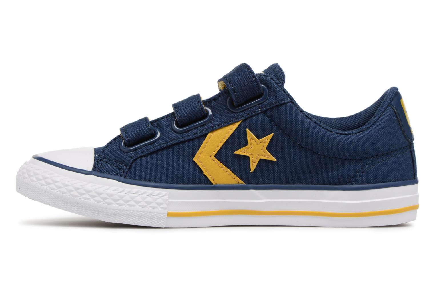 Star Player EV 3V Ox Sport Canvas Navy/Mineral Yellow/White
