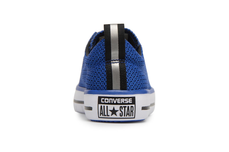 Hyper Royal/Black/White Converse Chuck Hyper Light Ox Mixed Textile (Bleu)