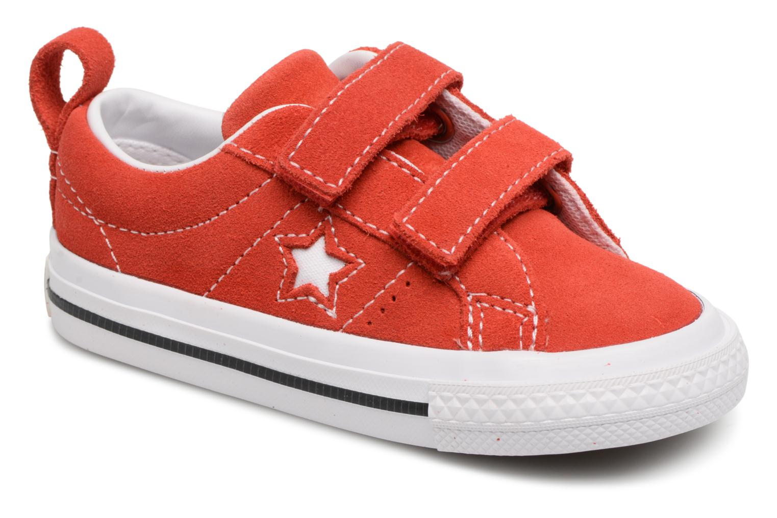 af982d036a8 Sneakers Converse Converse One Star Suede 2V Ox Rood detail