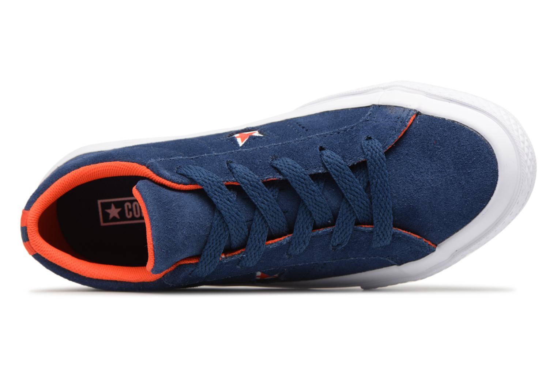 Baskets Converse One Star Ox Molded Varsity Star Bleu vue gauche