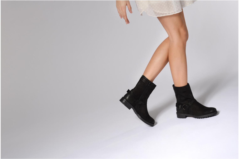 Bottines et boots Kickers ARMY Noir vue bas / vue portée sac