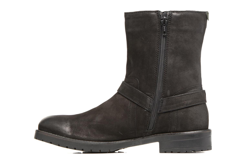 Bottines et boots Kickers ARMY Noir vue face