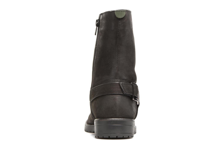 Bottines et boots Kickers ARMY Noir vue droite
