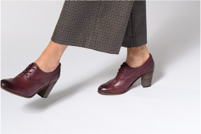 Chaussures à lacets Kickers DATING Noir vue bas / vue portée sac