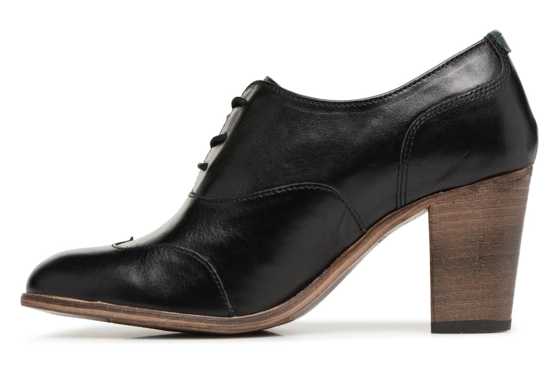 Chaussures à lacets Kickers DATING Noir vue face
