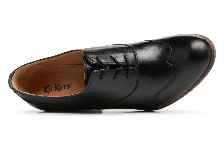 Chaussures à lacets Kickers DATING Noir vue gauche