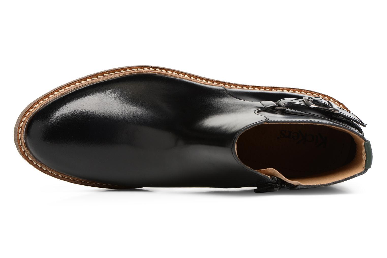 Bottines et boots Kickers OXIMORE Noir vue gauche