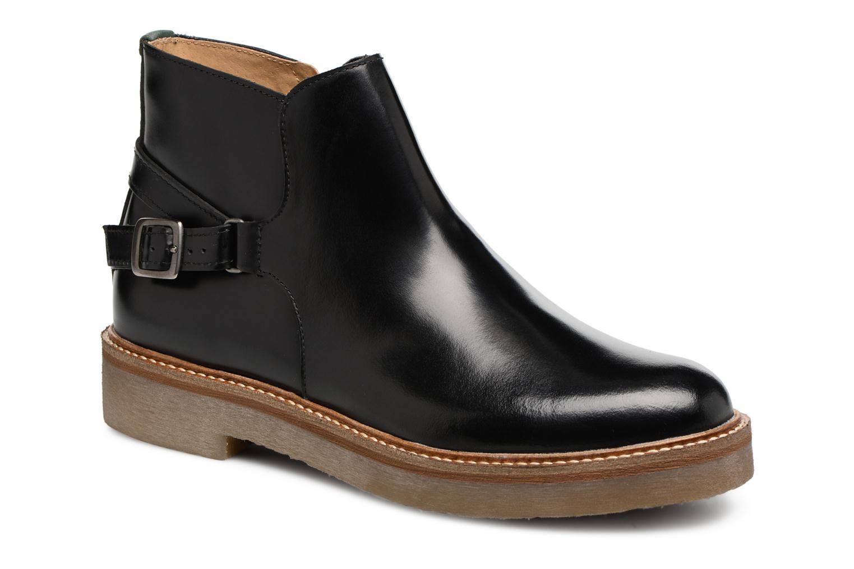 Bottines et boots Kickers OXIMORE Noir vue détail/paire