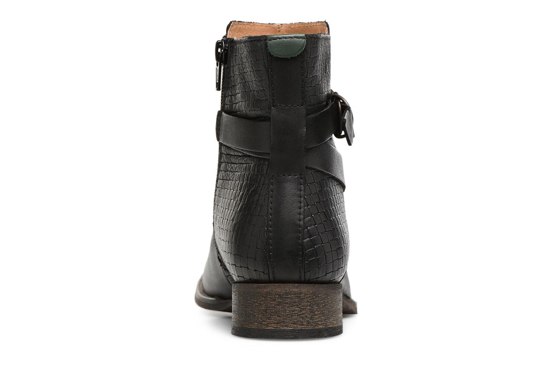 Bottines et boots Kickers PUNKING Noir vue droite