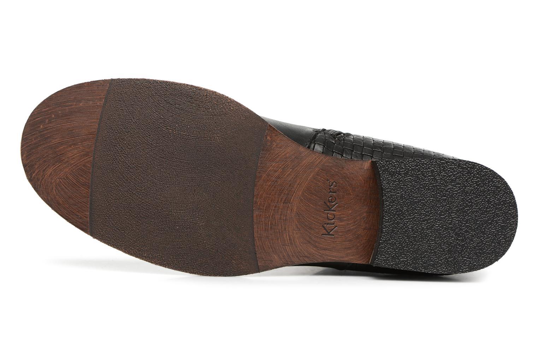Bottines et boots Kickers PUNKING Noir vue haut