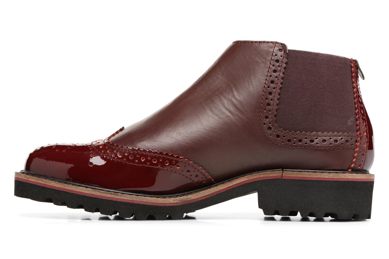 Bottines et boots Kickers RUSKY Bordeaux vue face