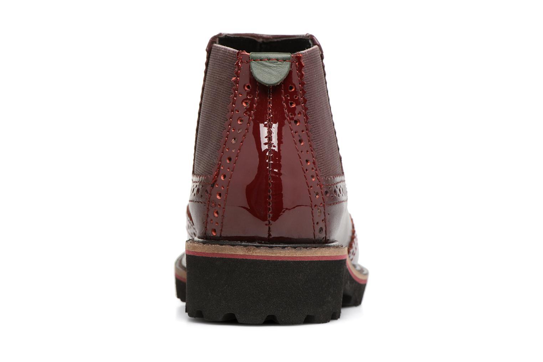 Bottines et boots Kickers RUSKY Bordeaux vue droite