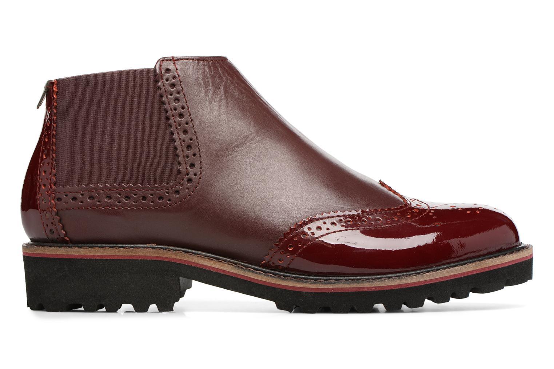 Bottines et boots Kickers RUSKY Bordeaux vue derrière
