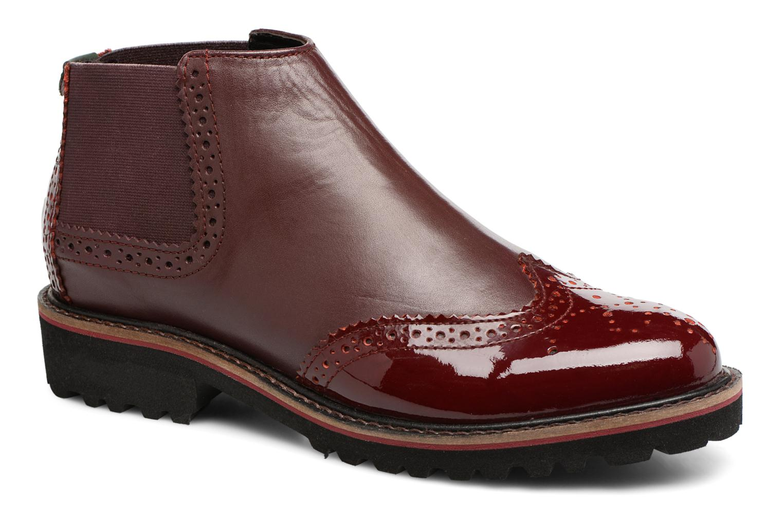 Bottines et boots Kickers RUSKY Bordeaux vue détail/paire