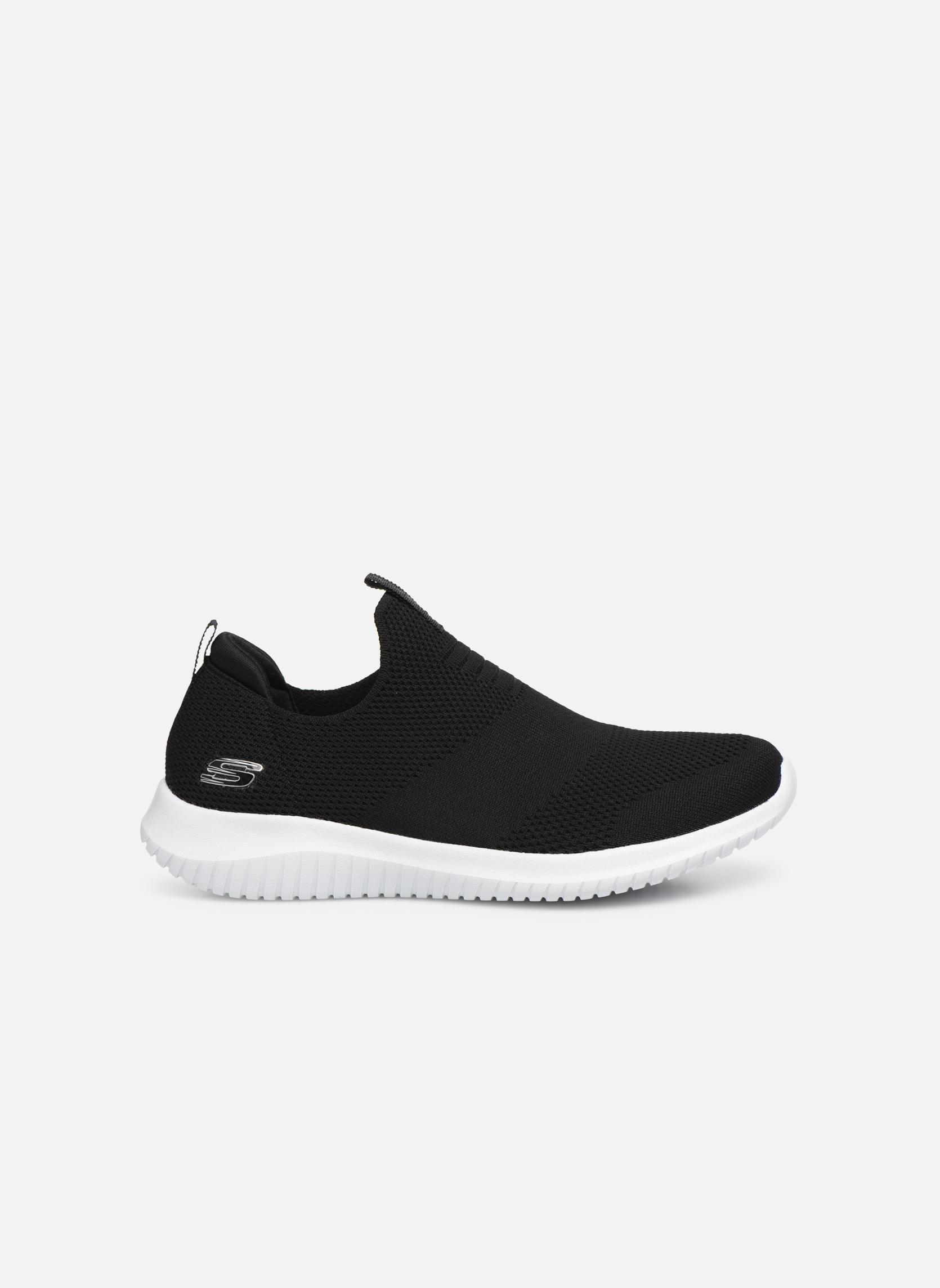 Chaussures de sport Skechers Ultra Flex First Take Noir vue derrière