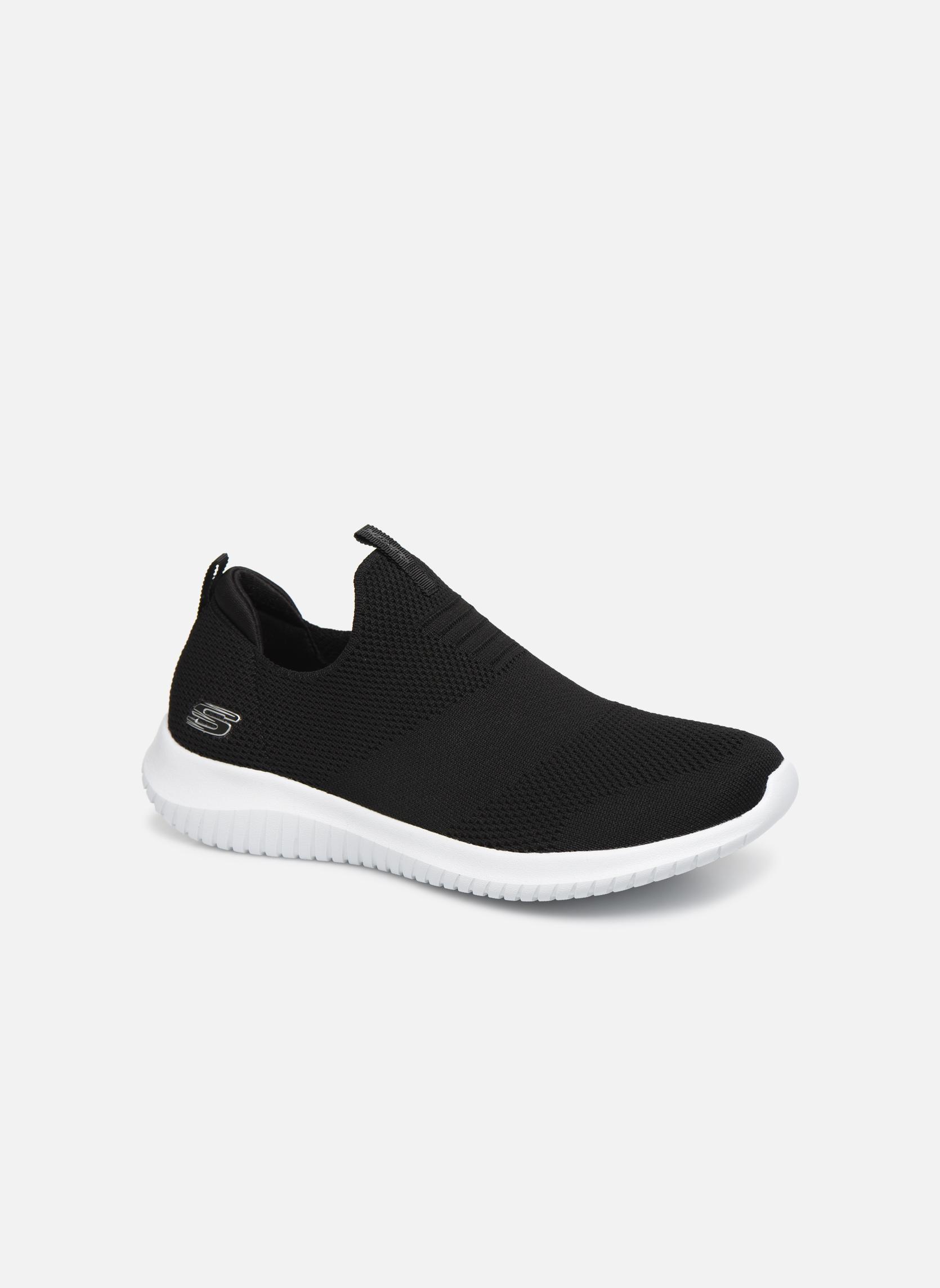 Chaussures de sport Skechers Ultra Flex First Take Noir vue détail/paire