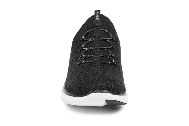 Chaussures de sport Skechers Flex Appeal 2.0 Clear-Cut Noir vue portées chaussures