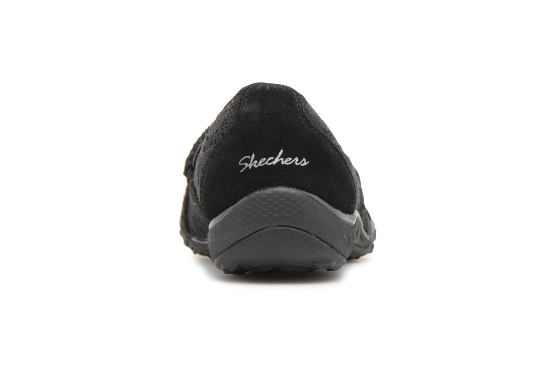 Ballerines Skechers Breathe-Easy Pretty Swagger Noir vue droite