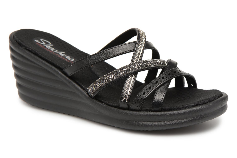 Sandaler Skechers Rumbler Wave New Lassie Sort detaljeret billede af skoene