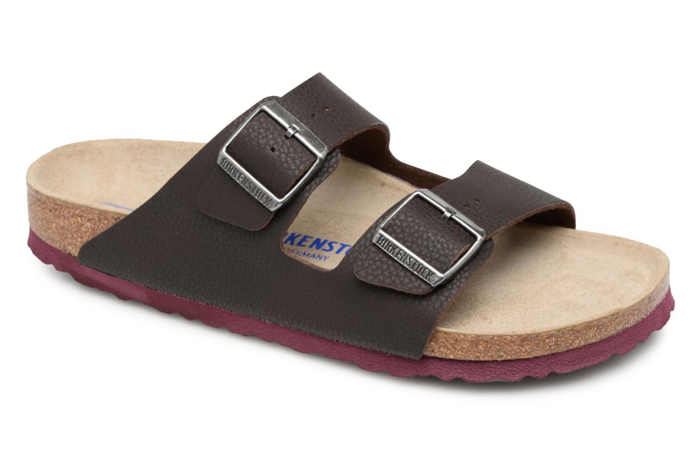 modelo más vendido de la marca Birkenstock Arizona Flor Soft Footbed M (Marrón) - Sandalias en Más cómodo