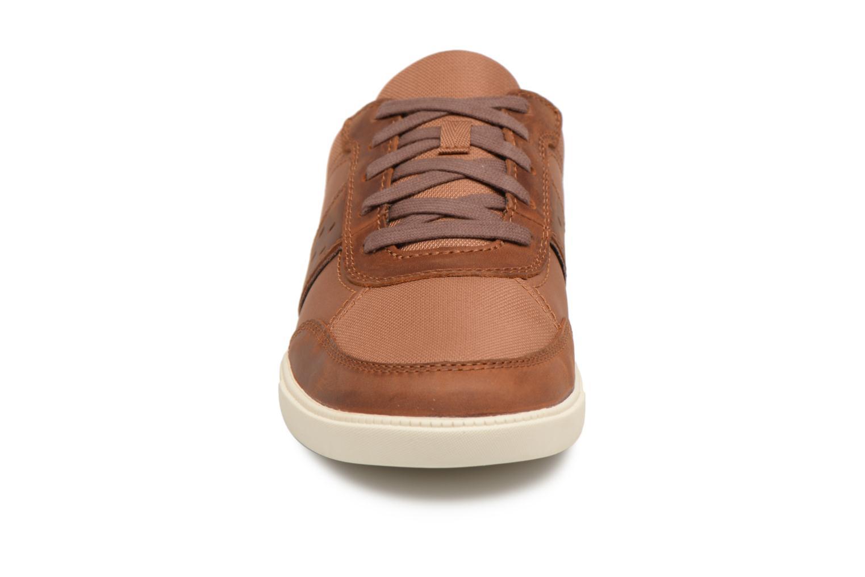 Sneaker Timberland Fulk Mixed Ox braun schuhe getragen