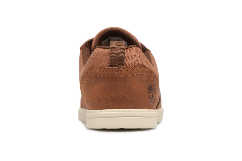 Sneaker Timberland Fulk Mixed Ox braun ansicht von rechts