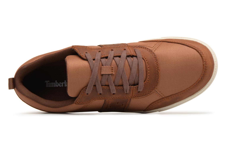 Sneaker Timberland Fulk Mixed Ox braun ansicht von links