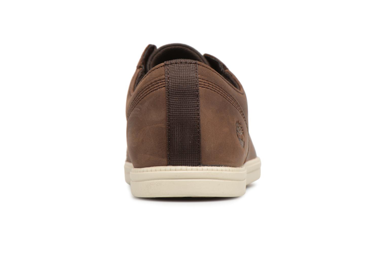 Sneaker Timberland Fulk Cap Toe Ox braun ansicht von rechts