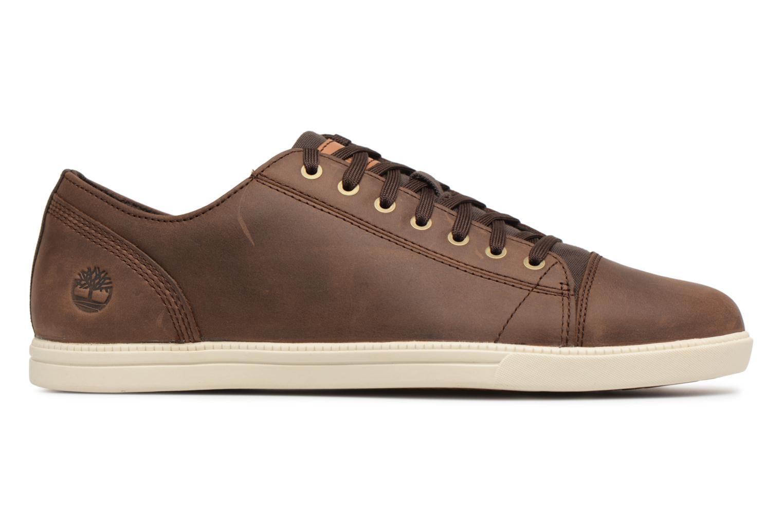Sneaker Timberland Fulk Cap Toe Ox braun ansicht von hinten