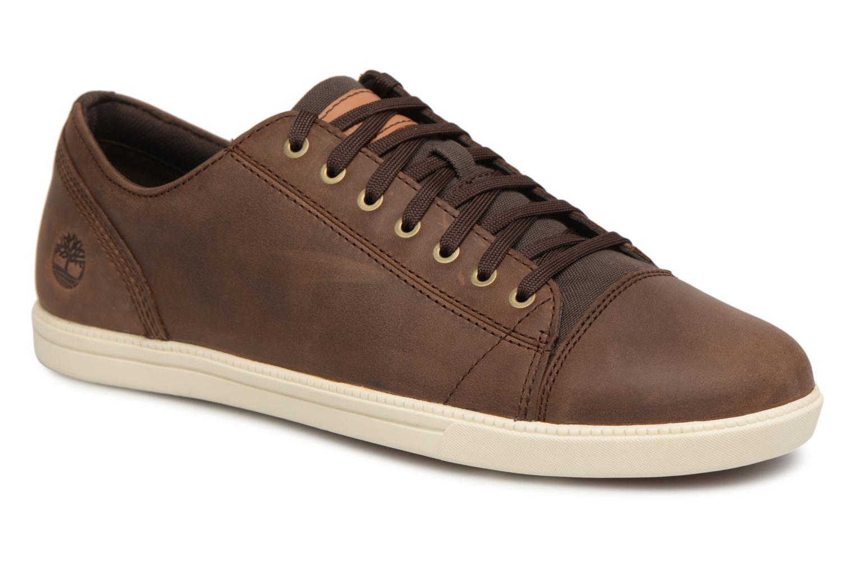 Sneaker Timberland Fulk Cap Toe Ox braun detaillierte ansicht/modell