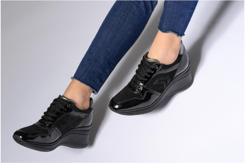 Sneakers Geox D REGINA B Zwart onder