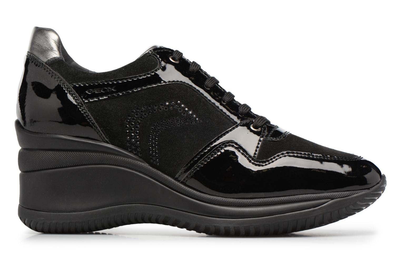 Sneakers Geox D REGINA B Zwart achterkant