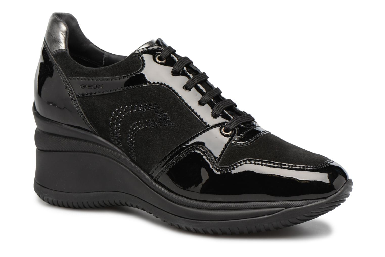 Sneakers Geox D REGINA B Zwart detail