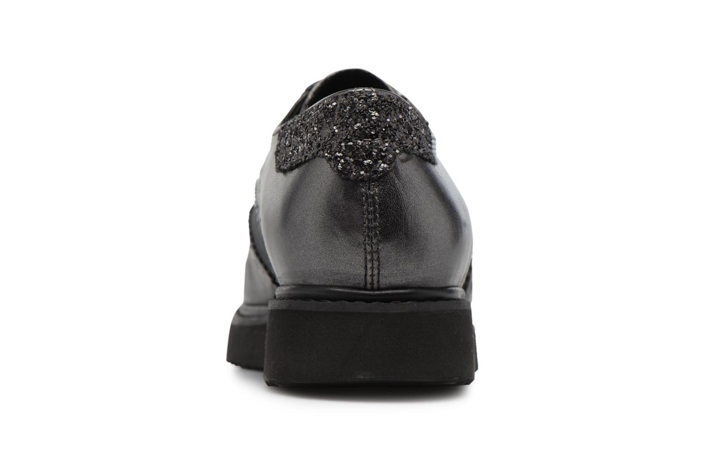 Chaussures à lacets Geox D THYMAR B Gris vue droite