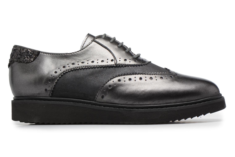 Chaussures à lacets Geox D THYMAR B Gris vue derrière