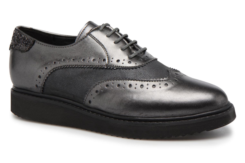 Chaussures à lacets Geox D THYMAR B Gris vue détail/paire