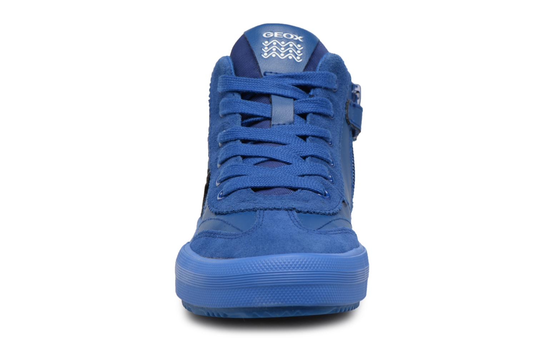 Sneaker Geox J ALONISSO B blau schuhe getragen