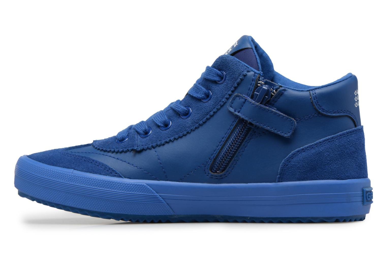 Sneaker Geox J ALONISSO B blau ansicht von vorne