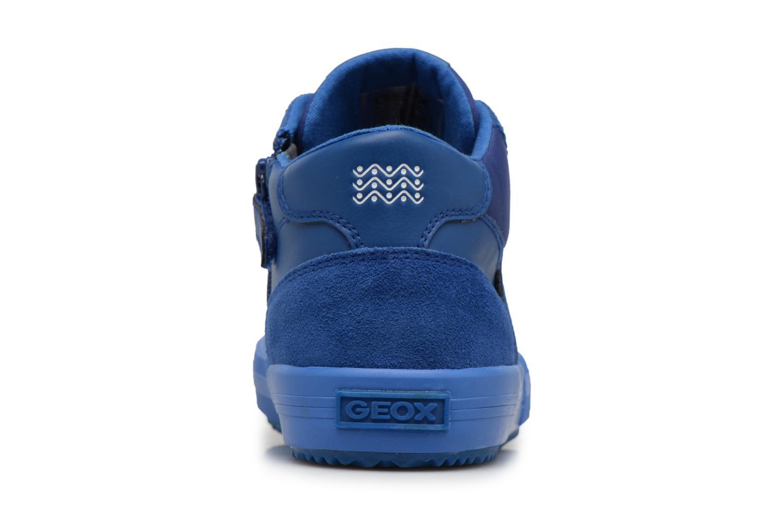 Sneaker Geox J ALONISSO B blau ansicht von rechts