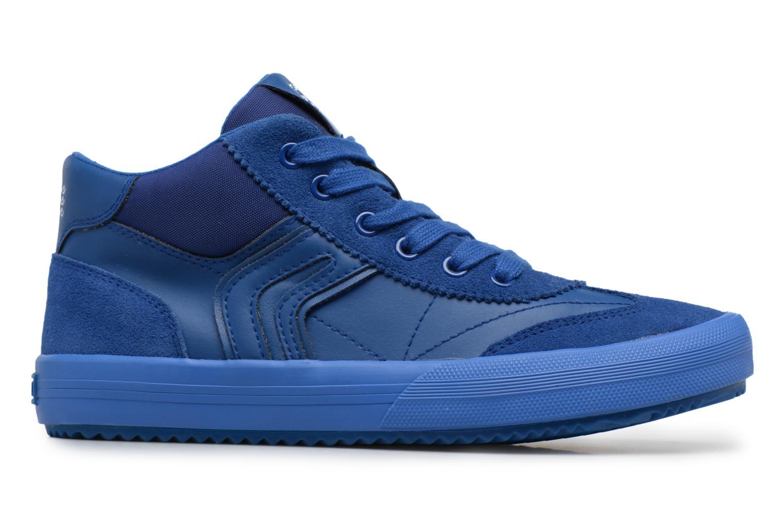 Sneaker Geox J ALONISSO B blau ansicht von hinten
