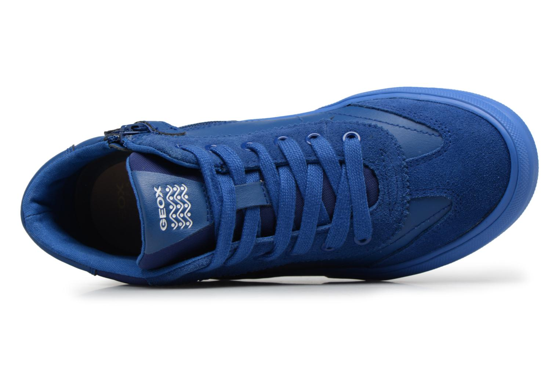 Sneaker Geox J ALONISSO B blau ansicht von links