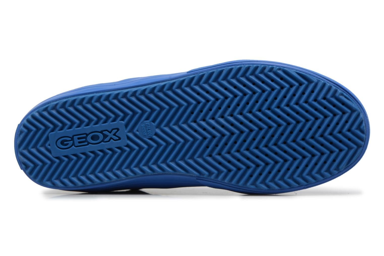 Sneaker Geox J ALONISSO B blau ansicht von oben